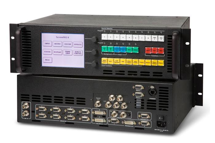 Processadora Barco Folsom II HD